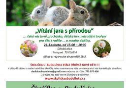 Vítání jara s přírodou ve Školičce u Budulínka