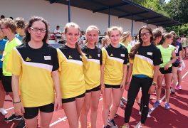 Celostátní finále vatletickém čtyřboji škol