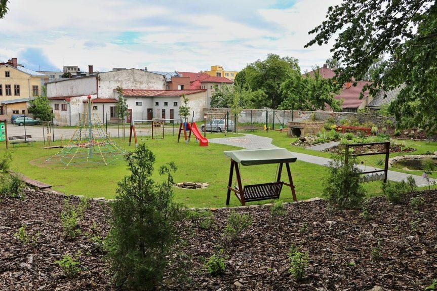 Nová zahrada MŠ Drobného