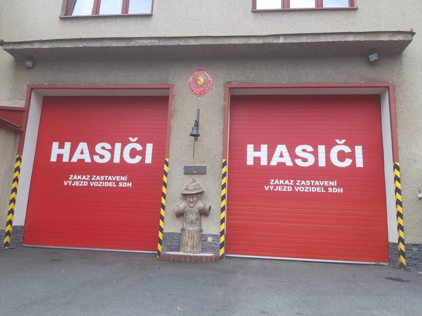 Poděkování novoměstským hasičům
