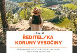 Hledá se ředitel/ka Koruny Vysočina